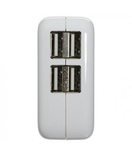 Chargeur 4 ports usb avec affichage de charge mené