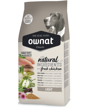 OWNAT CHIEN LIGHT 4 KG