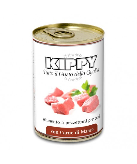 KIPPY DOG BITS IN JELLY BEEF 400 GR