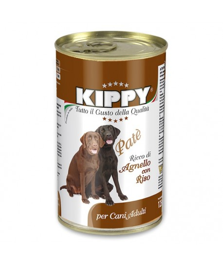 KIPPY DOG RIZ & AGNEAU 1250 GR