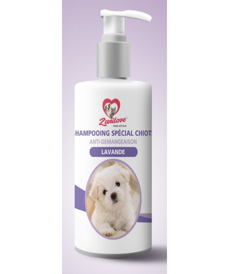 SHAMPOING CHIOT ANTI DÉMANGEAISON LAVANDE 200 ML