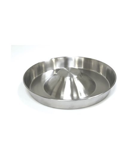 STEEL BOWL PUPPY SLOW EATING 38cm