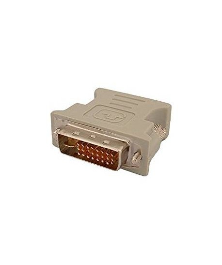 Adaptateur DVI MALE DVI-D 24+1 vers VGA FEMELLE