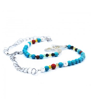 COLLIER PAPILLON BLEU