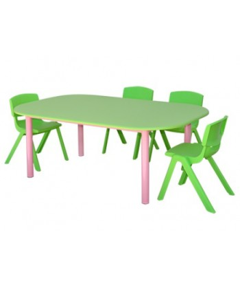 TABLE MATERNELLE OVALE TOP...