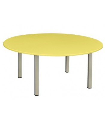 TABLE MATERNELLE RONDE PVC...