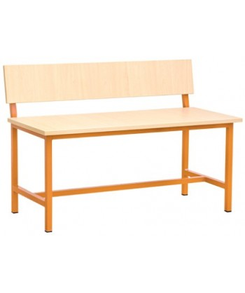 BANQUETTE TABLE ECOLIER BIPLACE 100X40X70