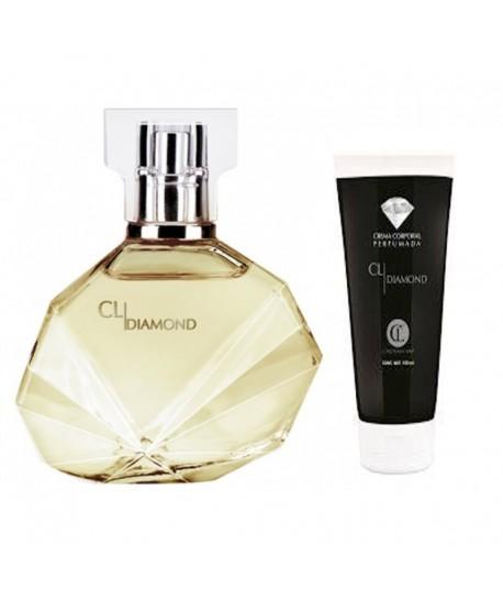 Lot Femme Diamond Parfum - 50ml Et Lait Corps - 150ml