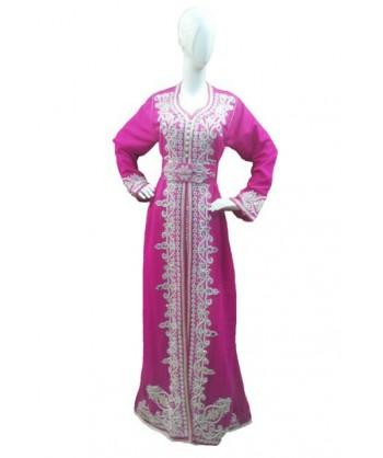 Koftan Marocain - Rose - Taille standard