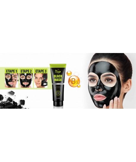 Masque Visage Black Mask Anti Tâches Noires Et Acné - 80ml