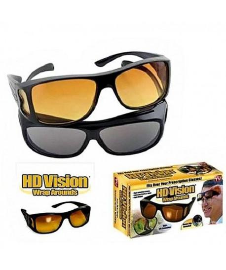 LUNETTES DE SOLEIL HD VISION 2 PCS