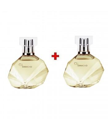 Lot deux Parfum - Femme - Diamond - 50ml*2