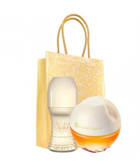 Lot Cadeau Femme - Parfum Incandessence 50ml - Roll On