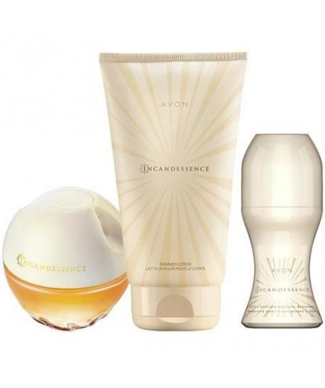 Lot Cadeau Femme - Parfum Incandessence 50ml - RollOn
