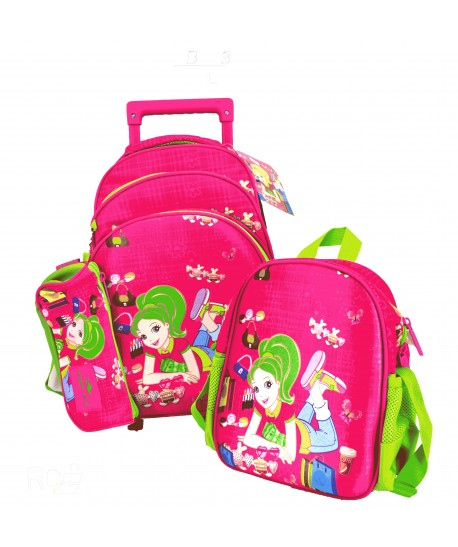 Trolley Back Pack GB2131 Glossy Bird