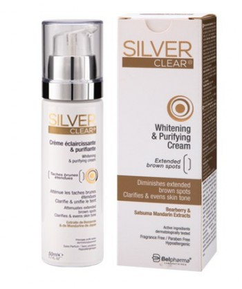 Silver clear crème...