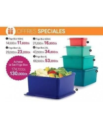 Série FRIGO BOX TUPPERWARE