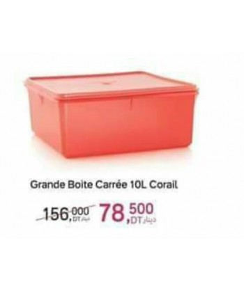Grande Boîte Carré 10L...