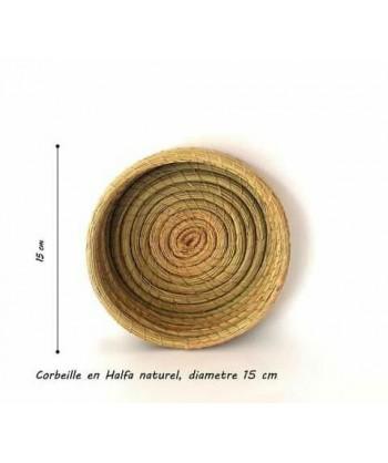 Corbeille en fibres naturels