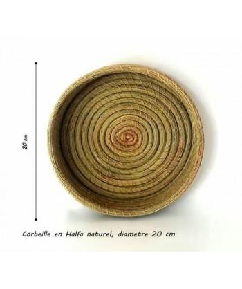 Corbeille en fibres naturel